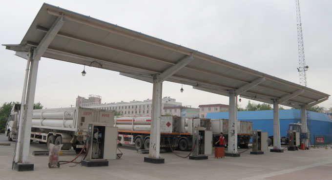 燃气储运-CNG加气母站